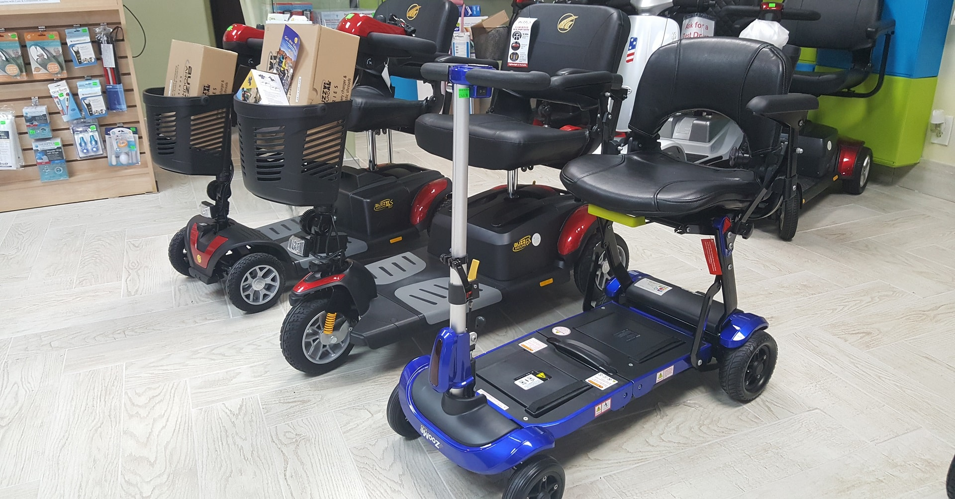 Mobility Power Scooter Store Showroom In Houston Sales