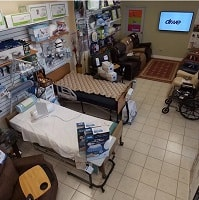 Hospital Bed Showroom in Houston